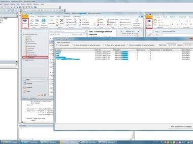Email Tracking System for Outlook 2010; Visual Basic for App