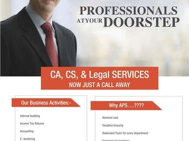 PARTNER IN A FIRM PROVIDING PROFESSIONAL SERVICES