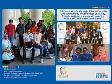 Heritage School Brochure Front