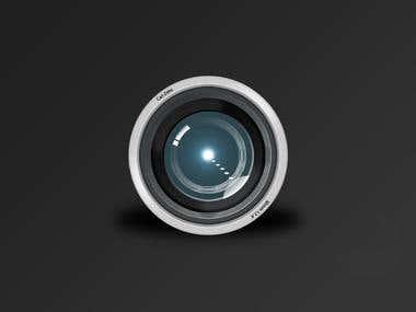 Camera Lens Effect