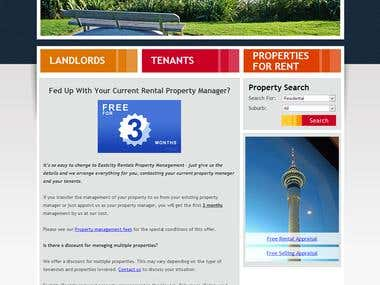 Renting website - Wordpress