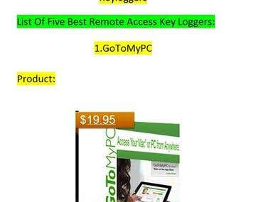 Research About Five Top Best Remote Access Keyloggers