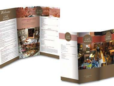Brochure - New York - Cafe