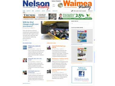 The Nelson Weekly Wordpress Website