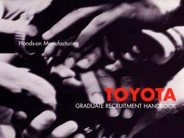 Toyota Graduate Recruitment Handbook