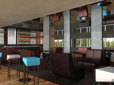 3D Architectural Interior Visualization by Zyngalala