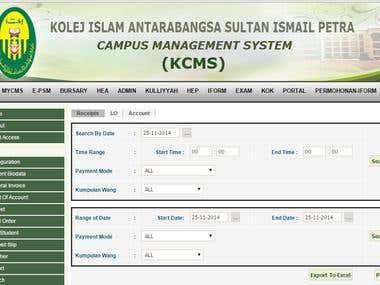 Student Portal– Kolej Islam Sultan Ismail Petra Malaysia