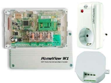 GSM Communicator - HomeView W1