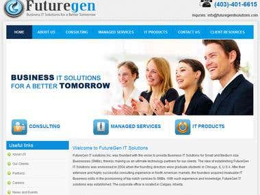 IT Solutions website built on Drupal.