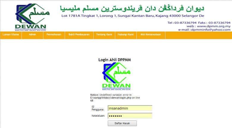 Lokasi: Sistem Informasi Perdagangan Pada PT Yoltran Sari Menggunakan Php Berbasis Web