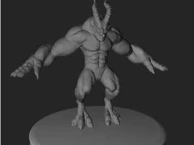 3D Model Aragon