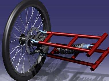 Trikes suspension mechanism