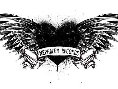 Logo for local record label