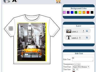 Prestashop Module for Custom T - Shirt and Mobile Design