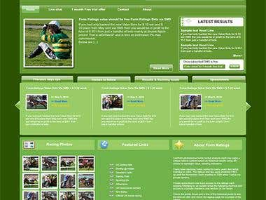 Horse Rating - Web Design & Development