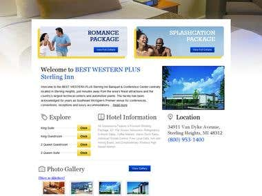Hotel online portal