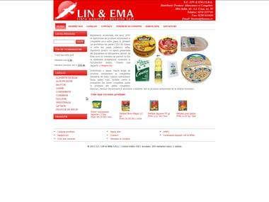LIN & EMA - distributie produse alimentare