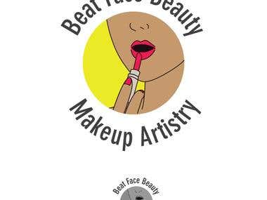 Make-up design company Logo and business card