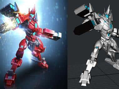 Robot Model&FX