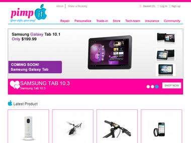 PimpIt - OpenCart Online Store