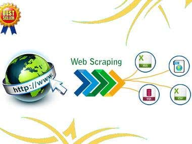 Web scraping Big websites.
