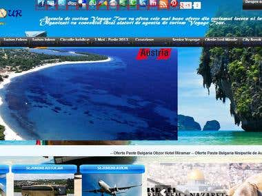 Voyagetour.ro    website design
