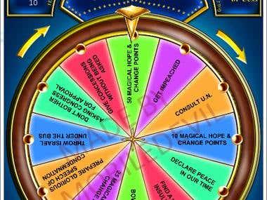 Spinning Wheel Game