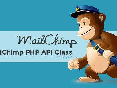 MailChimp API Project