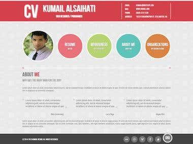 Portfolio / Resume Website