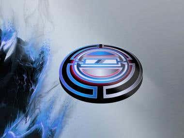 Circular and 3D circle logo designs