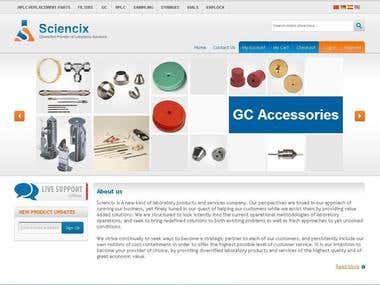 Sciencix is a new kind of laboratory products and services c