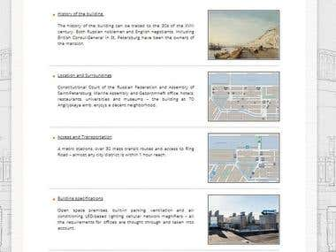 Business center website, Russian-English translation, 2,000+