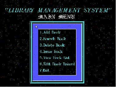 Library Management System [In C language]
