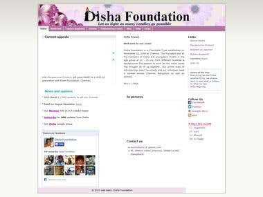 Website - Disha Foundations