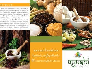 Brochure Design - Ayush