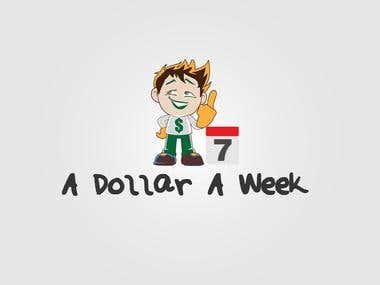 A Dollar A Week Mascot