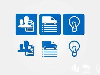 Computer Service Icon designs