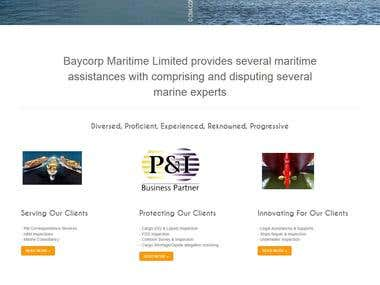 Baycorp Maritime Limited website