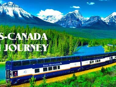 Trans-Canada Train Journey – Canada