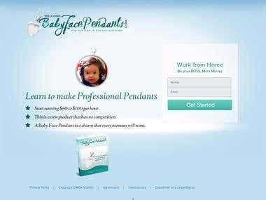 Simple Web design using WordPress