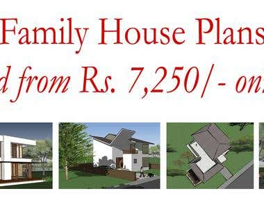 Architecture Design of Family Home Plans