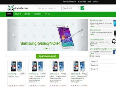 sites for mobile and electronics goods sales