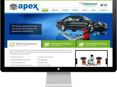 Apex Automobiles - Website