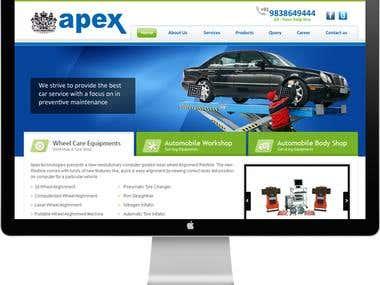 Apex Automobiles - Website