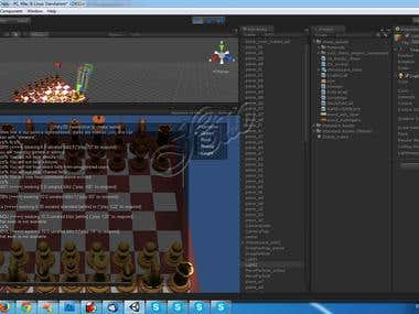 2D/ 3D Chess Game with AI