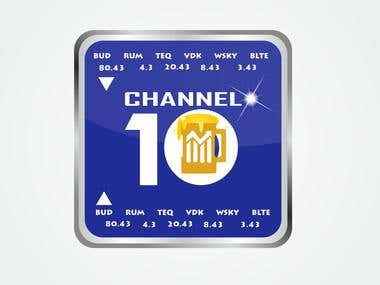10 Channel Logo