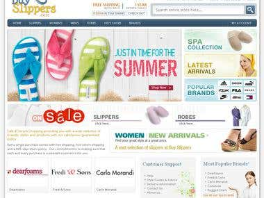 Cute & Pretty Slippers Store: Magento Store
