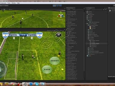 Unity3D Foot Ball Game
