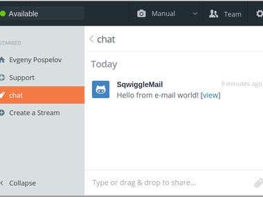 Mail to Sqwiggle notifiier for Google App Engine
