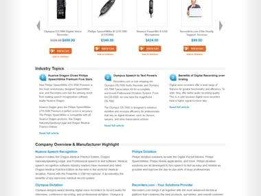 Magento Design & Development Work